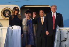 BENADOR: TRUMP, JAPAN SHINZO ABE MET