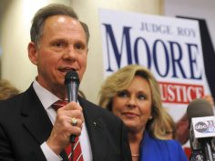 "BENADOR: ROY MOORE WITH TRUMP ON BOARD: ""GO GET'EM, ROY"""